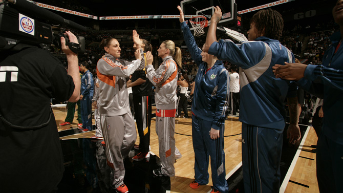 WNBA All Star Game at Mandalay Bay Events Center
