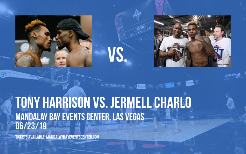 Premier Boxing Champions: Tony Harrison vs. Jermell Charlo at Mandalay Bay Events Center