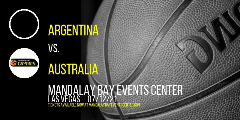 Argentina vs. Nigeria & USA Basketball vs. Australia at Mandalay Bay Events Center