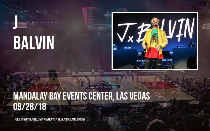 J Balvin at Mandalay Bay Events Center