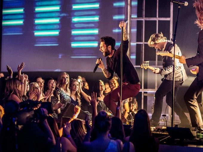 Maroon 5 at Mandalay Bay Events Center