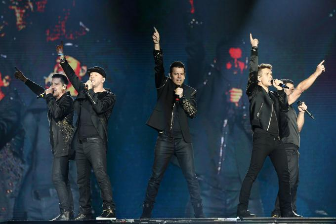 New Kids On The Block, Salt N Pepa & Naughty by Nature at Mandalay Bay Events Center