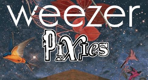 Weezer & Pixies at Mandalay Bay Events Center