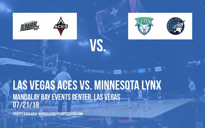 Las Vegas Aces vs. Minnesota Lynx at Mandalay Bay Events Center
