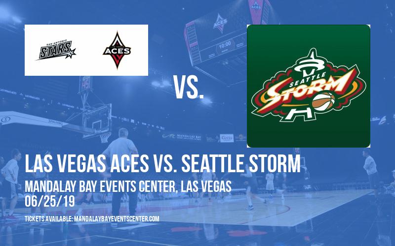 Las Vegas Aces vs. Seattle Storm at Mandalay Bay Events Center