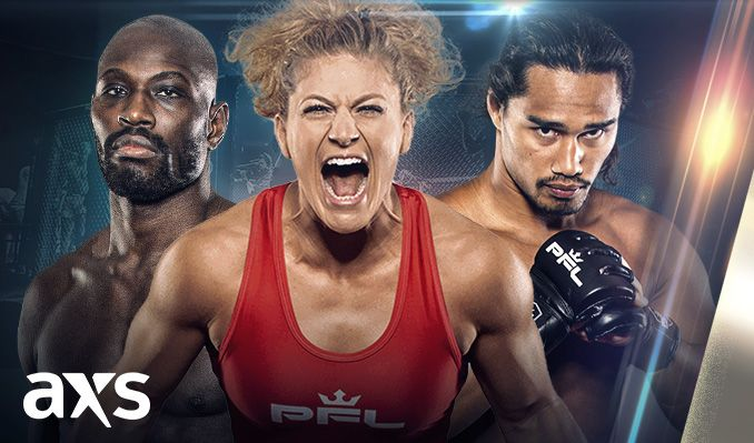 Professional Fighters League MMA Playoffs: Women's Lightweights & Men's Welterweights at Mandalay Bay Events Center