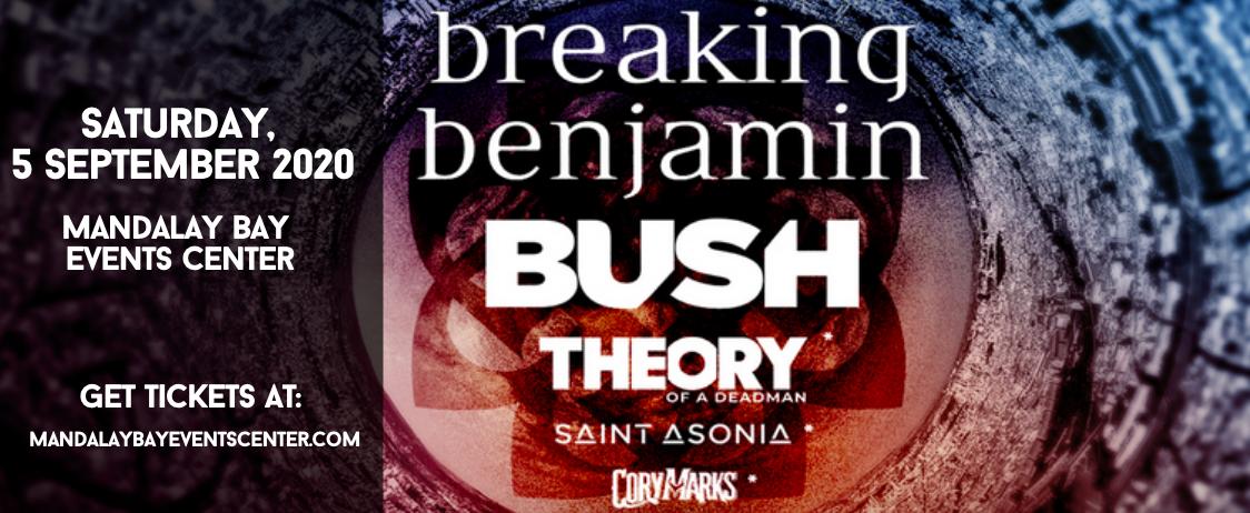 Breaking Benjamin & Bush at Mandalay Bay Events Center