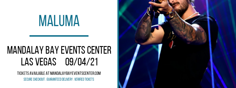 Maluma at Mandalay Bay Events Center