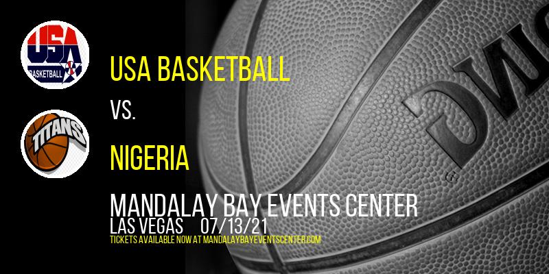 USA Basketball vs. Argentina & Australia vs. Nigeria at Mandalay Bay Events Center