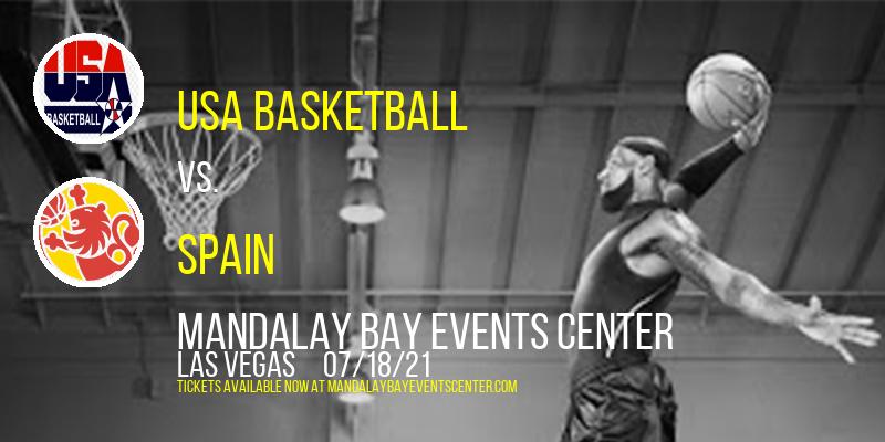 USA Basketball vs. Nigeria (Womens) & USA Basketball vs. Spain (Mens) at Mandalay Bay Events Center